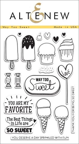Набор штампов  Way Too Sweet Stamp Set