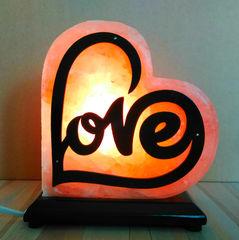 Солевая лампа Сердечко-Любовь 2-3 кг