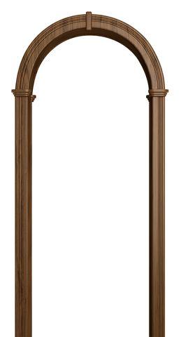 Арка межкомнатная ПВХ Лесма, Валенсия, цвет дуб антик