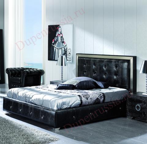 Кровать DUPEN 624  COCO черная
