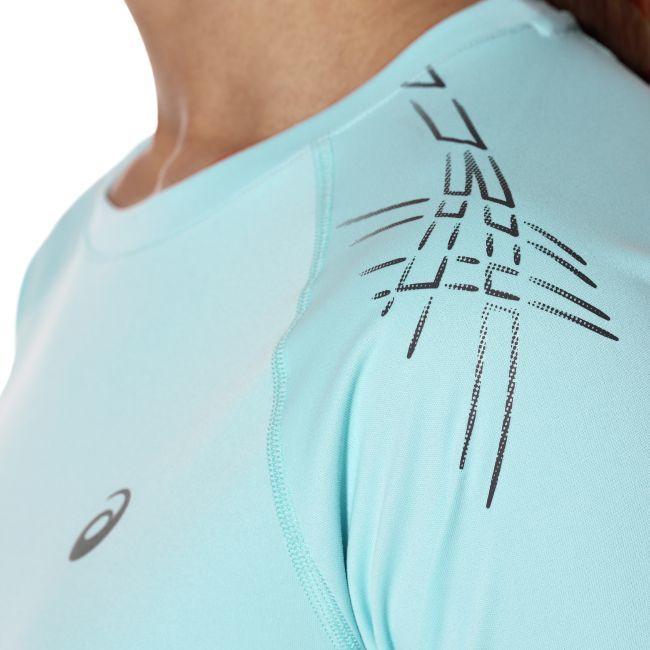 Женская одежда для фитнеса Asics Stripe SS Top (126232 8009) фото
