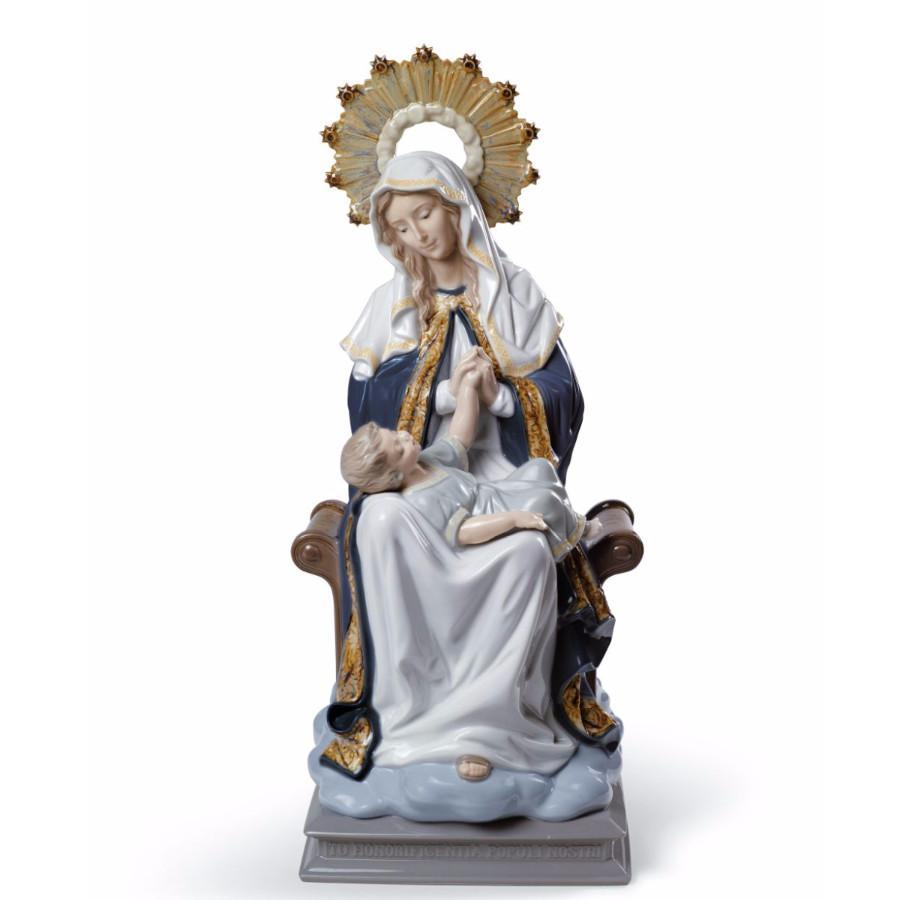 Lladro 1008479 — Интерьерная композиция OUR LADY OF DIVINE PROVIDENCE