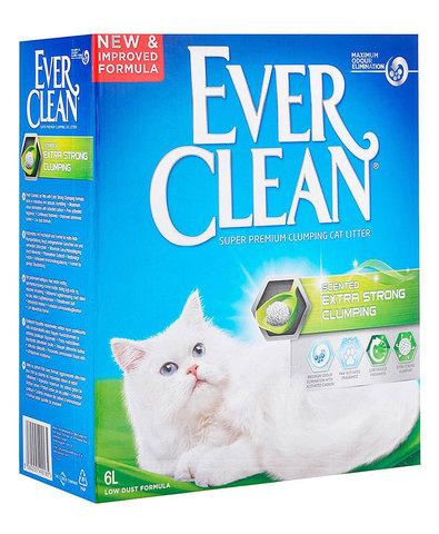 Ever Clean Extra Strong Clumping Scented комкующийся наполнитель с ароматизатором д/кошек (6 л)