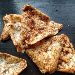 Флайчипсы безглютеновые кукурузно-рисовые с солью, 40г.