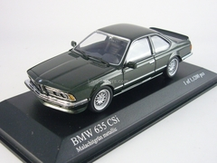 BMW 635 CSI (E24) 1982 green Minichamps 1:43