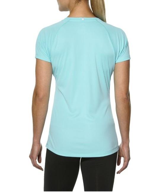 Женская беговая футболка Asics Stripe SS Top (126232 8009) фото