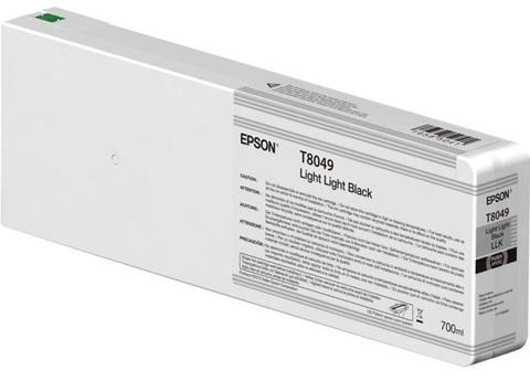 Картридж T804900 для Epson SC-P6000/7000/8000/9000 XXL Light Light Black UltraChrome HDX/HD, 700ml (C13T804900)