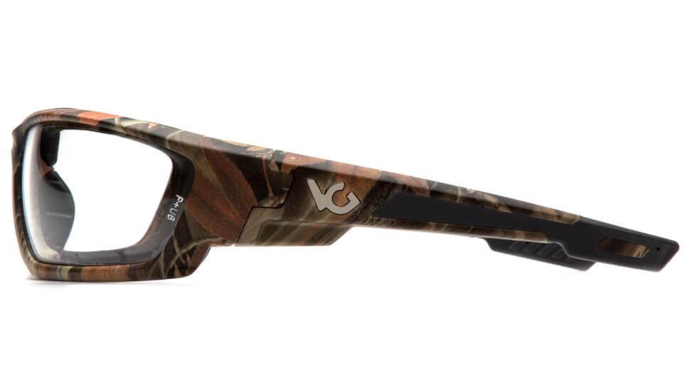 Очки баллистические стрелковые Pyramex Brevard VGSCM1010DTB Anti-fog прозрачные 96%