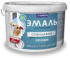 Эмаль акриловая Капитель ПРОФИ глянцевая, 2,5кг