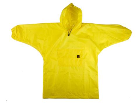 Желтый дождевик - Кот
