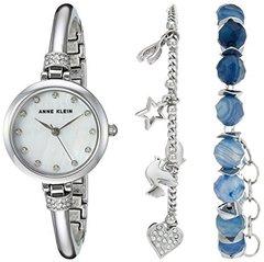 Женские наручные часы Anne Klein 2841BAGT в наборе
