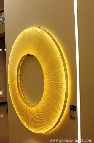 IRIS wall lamp by Dix heures dix ( yellow + 60 )