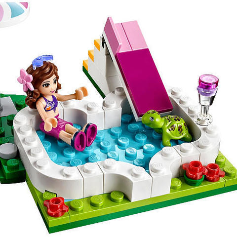 LEGO Friends: Маленький бассейн Оливии 41090