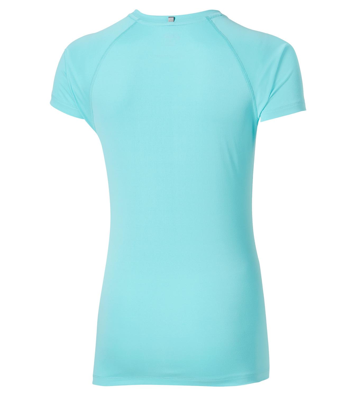 Женская беговая футболка Asics Stripe SS Top (126232 8009) мятная фото