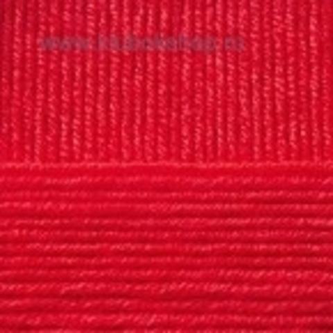 Пряжа Перспективная красный 06 (Пехорка)