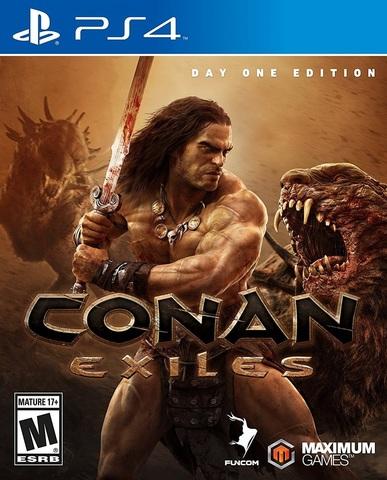 Sony PS4 Conan Exiles. Издание первого дня (русские субтитры)