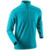 Женская беговая рубашка Bjorn Daehlie Half Zip Drift (321194 23200) бирюзовая