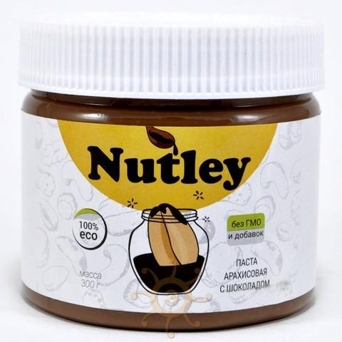 Паста арахисовая с шоколадом Nutley 300г