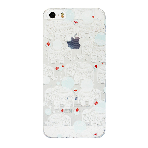 Чехол для IPhone 5/5S Elephant