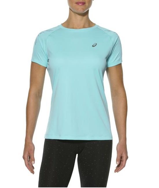 Женская футболка для бега Asics Stripe SS Top (126232 8009) фото