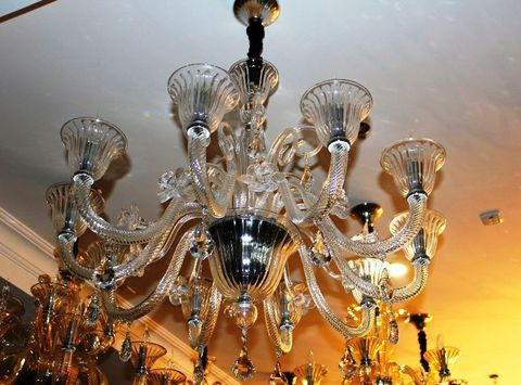 murano chandelier  SYLCOM 11-04  by Arlecchino Arts ( HK)