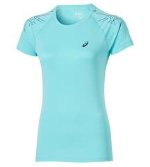 Женская футболка для бега Asics Stripe SS Top (126232 8009) мятная фото