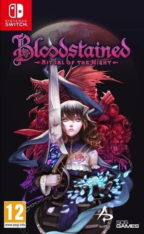NS: Bloodstained: Ritual of the Night (русские субтитры)