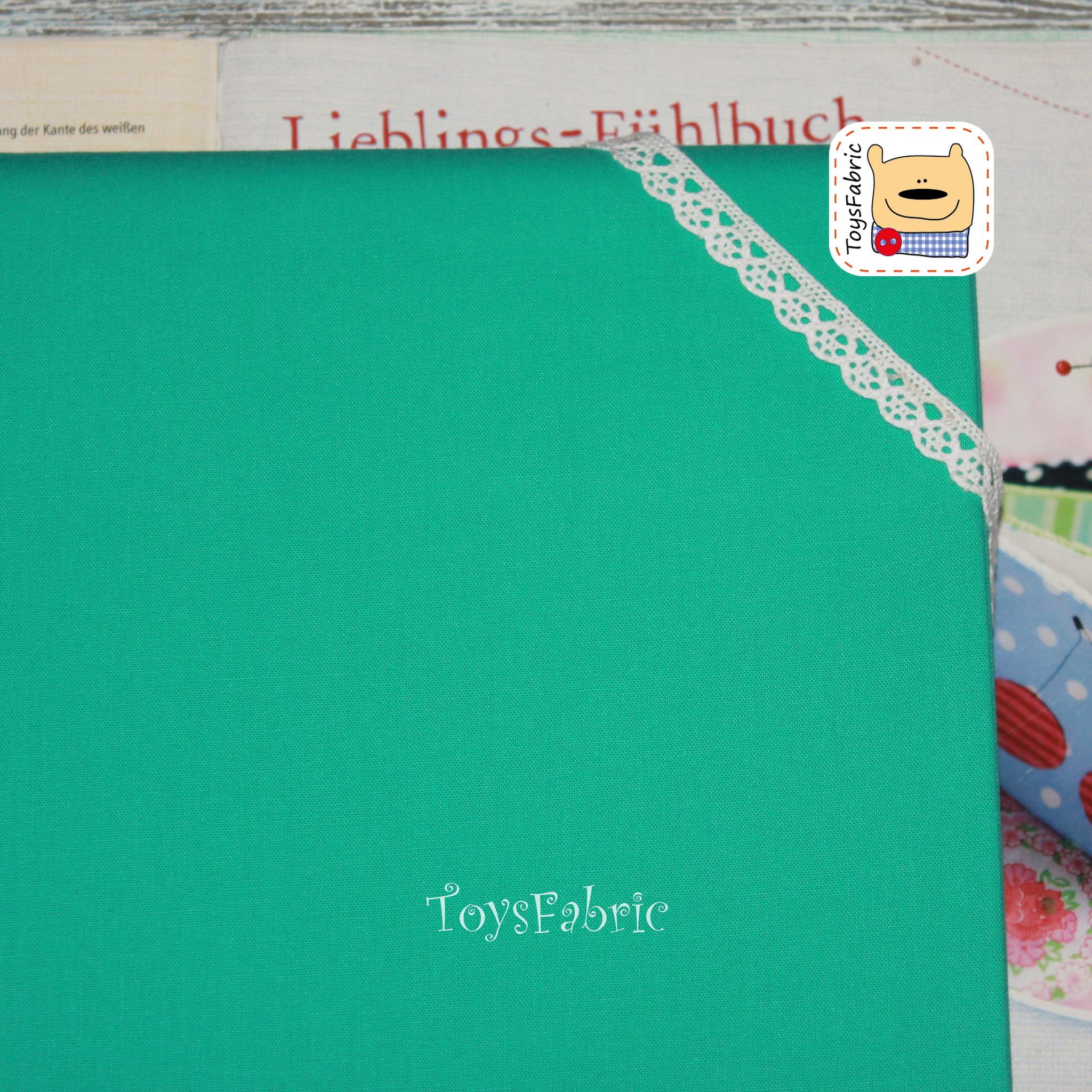 Ткань для пэчворка 20670 (однотонный изумрудный) 45х55см