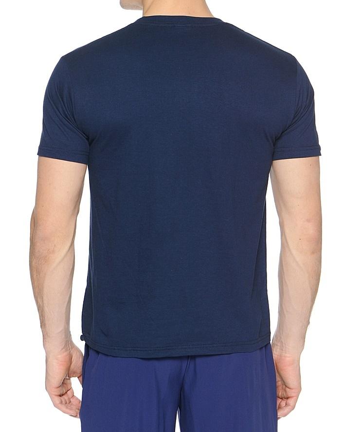 Мужская футболка асикс Promozionali  dark blue (T207Z9 0050)