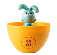 Ouaps Бани и его друзья. Угадай где? Развивающая интерактивная игрушка в яйце, в ассортименте (61021Ou)