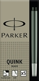 Картридж чернильный Parker Z11 для перьевой ручки с чернилами Black (5шт) (S0116200)
