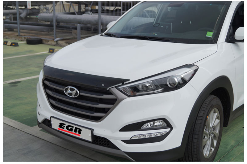 Дефлектор капота EGR для Hyundai Tucson (2015- по н.в. ) картридж brother lc 1240y yellow для mfc j6510 6910dw j430w j825dw dcp j525w 600стр