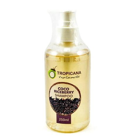 Шампунь с экстрактом бурого риса и кокосовым маслом Tropicana, 250 мл