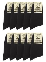 M5 Пирамида носки мужские, черные (10шт)