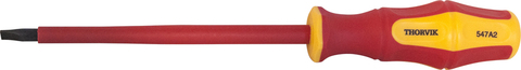 Отвертка шлицевая диэлектрическая VDE 1000 v SL5.5x125 мм