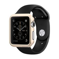 Чехол Spigen для Apple Watch Thin Fit Gold (42mm)