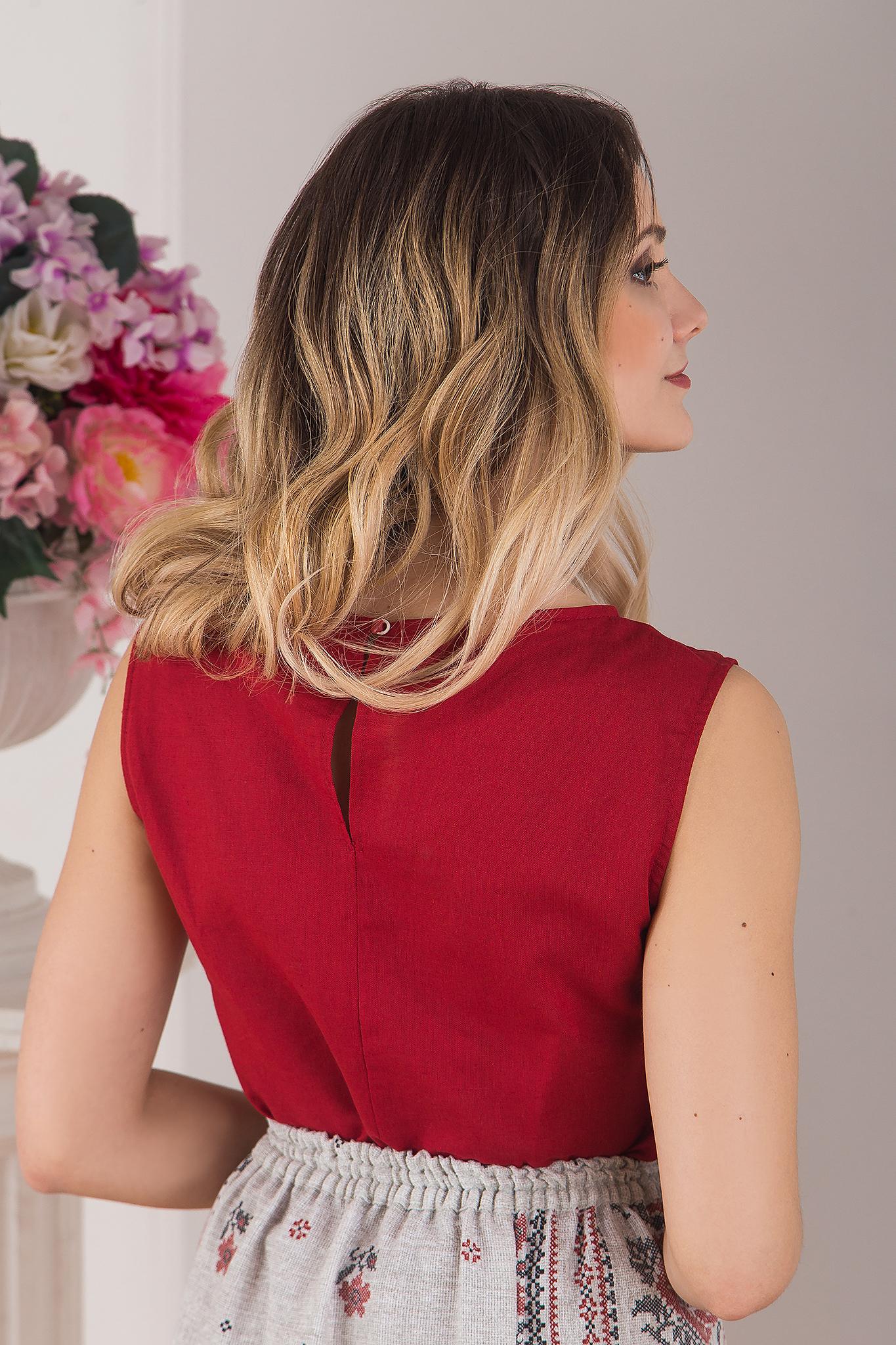 Блуза Руса вид сзади