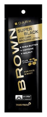 Крем Tannymax Brown Super Black Tanning Lotion 15 мл