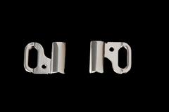 Застежка металл 15 мм никель
