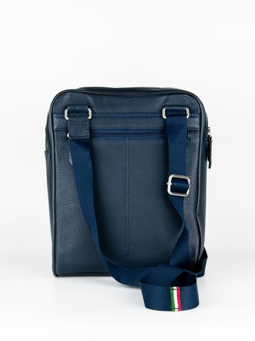 Кожаная сумка через плечо  Aeronautica Militare blue, AM-311, фото 5