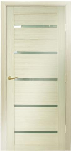 Дверь №7Х стекло матовое (эш вайт мелинга, остекленная экошпон), фабрика Profil Doors
