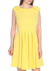 WD2606F04 платье женское, желтое