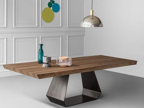 replica table BONALDO AMOND WOOD ( by Steel Arts)