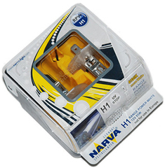 Галогенные лампы Narva H1 Range Power White (4100K) (2шт.)