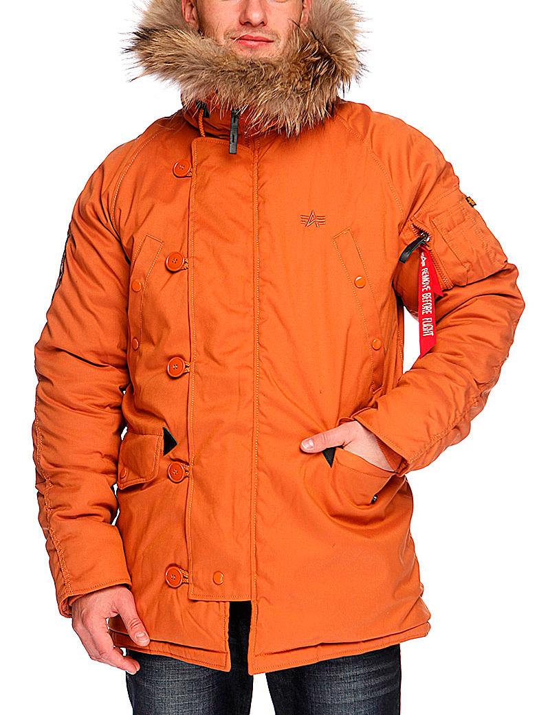 Куртка Аляска Зимняя - Explorer (оранж - orange)