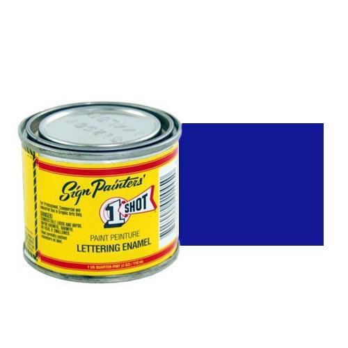 155-L Эмаль для пинстрайпинга 1 Shot Синий (Reflex Blue), 118 мл