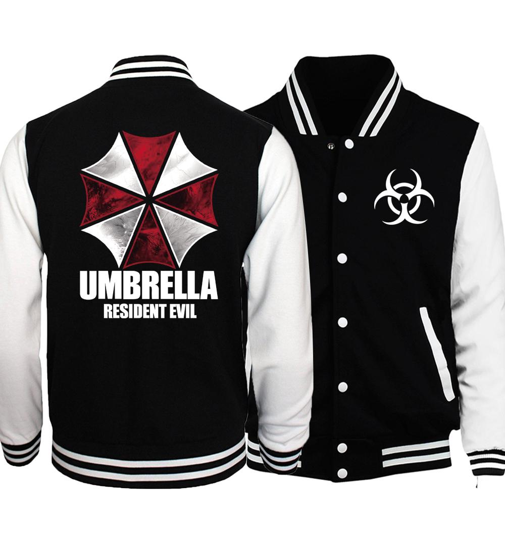 Куртка бейсбольная Обитель Зла — Baseball Jacket Resident Evil
