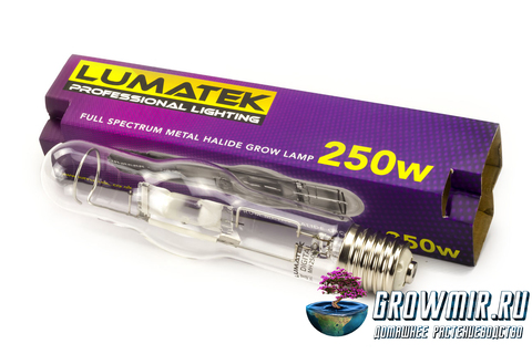 Металлогалогенная лампа LUMATEK MH 250 W 240V