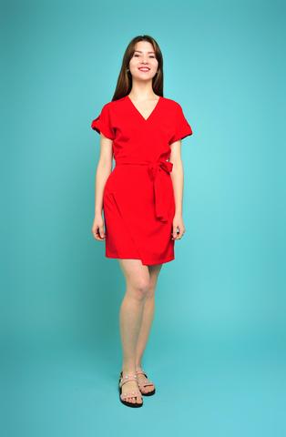 Платье с запахом