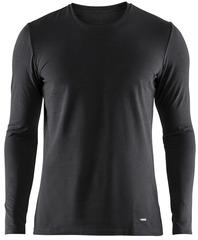 Термобелье Рубашка Craft Essential Warm Black мужская